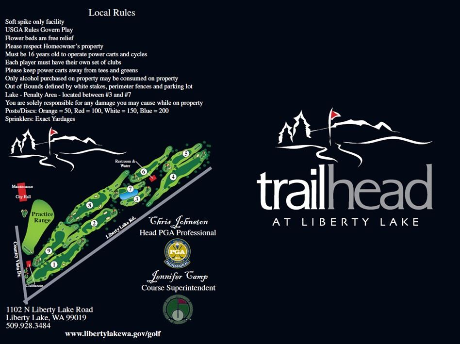 2020 Trailhead Scorecard - Back
