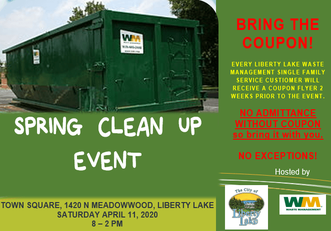 Spring Clean Up Event Flyer 2020