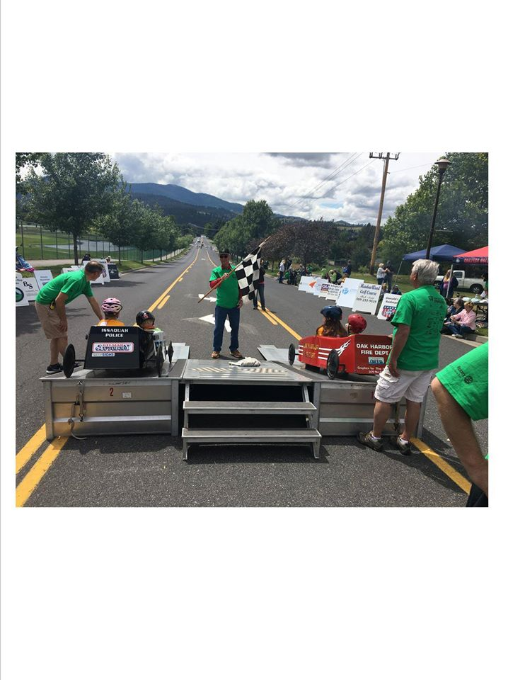 2019 GSRotary soap box derby photo